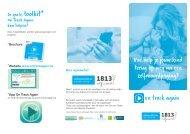 Folder 'Hoe help je jouw kind terug op weg na een zelfmoordpoging?'