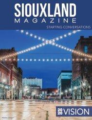 Siouxland Magazine - Volume 2 Issue 1