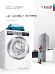 Bosch_EXKLUSIV_Hausgeräte_Programm_2019_2020