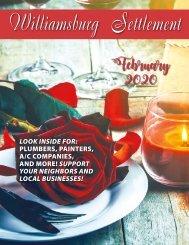 Williamsburg Settlement February 2020