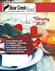 Bear Creek February 2020