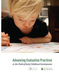 Advancing Evaluation Practices: Stimulus Paper