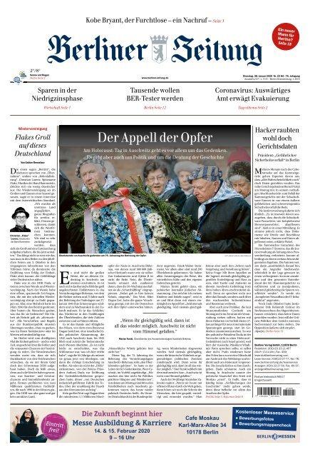 Berliner Zeitung 28.01.2020