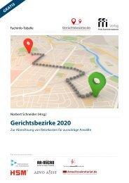 Fachinfo-Tabelle Gerichtsbezirke 2020