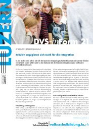DVS-inForm Februar 2020