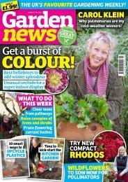 Garden News 18 Jan