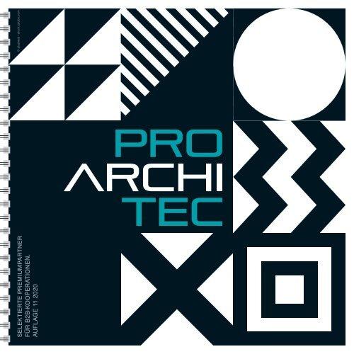 pro ArchiTec - Ausgabe Frühjahr 2020