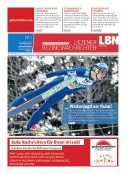 Liezener Bezirksnachrichten Nr. 1, Jänner 2020