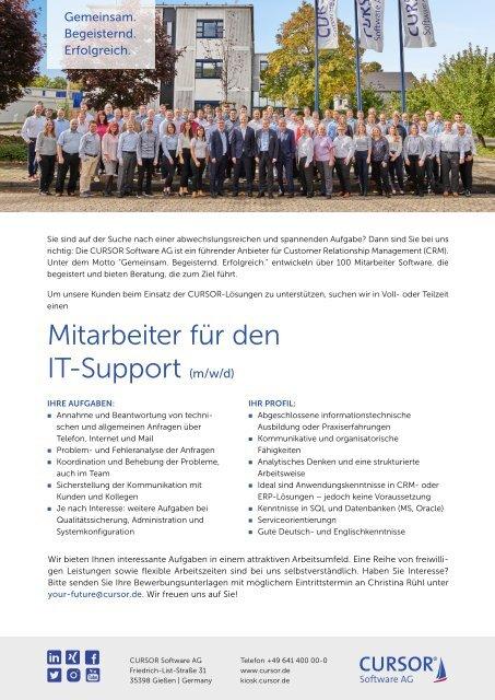Mitarbeiter IT-Support (m/w/d) Stellenanzeige