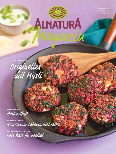 Alnatura Magazin Februar 2020