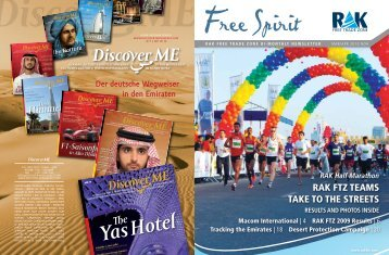 RAK FTZ TEAMs TAKE To ThE sTREETs - Ras Al Khaimah Free ...