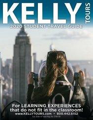 Kelly Tours 2019-20 Student Catalog