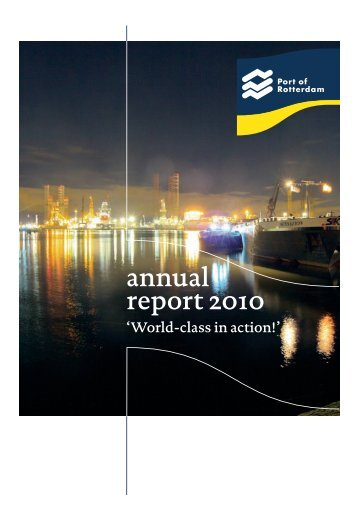 Download annual report 2010 - Port of Rotterdam