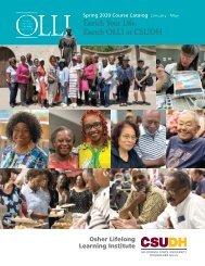 Spring 2020 OLLI Catalog (Interactive)