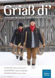 Griaß di' Magazin Februar/März 2020