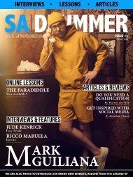 Issue 11 - Mark Guiliana - February 2020