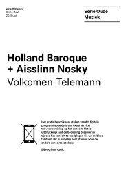 2020 02 02 Holland Baroque + Aisslinn Mosky