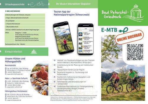 Mountain E-Bike Touren & Verleih