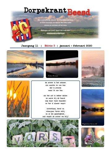 DORPSKRANT BEESD – JAARGANG 11 - NR.3
