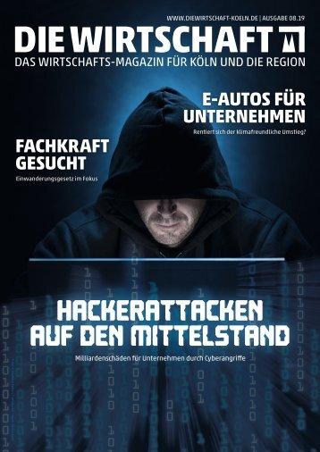 Die Wirtschaft Köln Ausgabe 08 / 2019