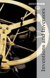 Inventions and Inventors Volume 1 - Online Public Access Catalog