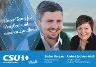 CSU Penzberg Kandidatenprospekt