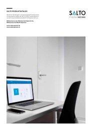 SALTO Systems Produktkatalog