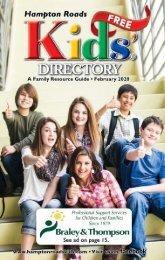 Hampton Roads Kids' Directory February 2020 Issue