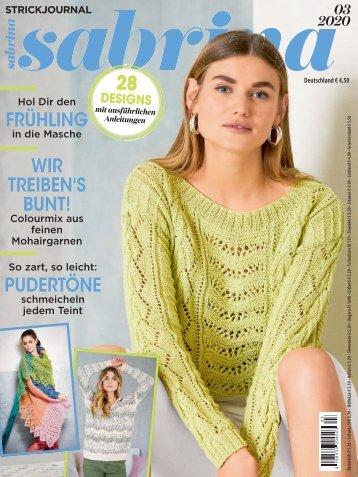 Zeitschrift Sabrina Nr. 3/2020