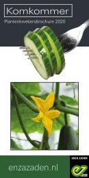 Komkommer | Plantenkwekersbrochure 2020