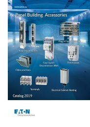 EATON_Catalog_xEffect-Panel-Builder-Devices-XNH-PIFT-FCF-NHW-Terminal-blocks_08-2019_EN