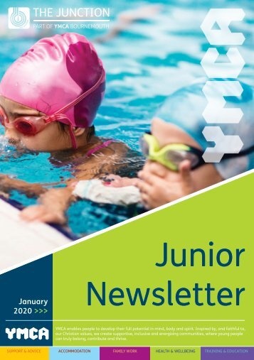 The Junction - Junior Newsletter - Jan 2020