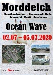 Norddeich - Ocean Wave - Datum Juli 2020