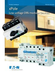EATON_Catalog_xPole-DIN-modular-LV-devices-BNL_05-2018_EN
