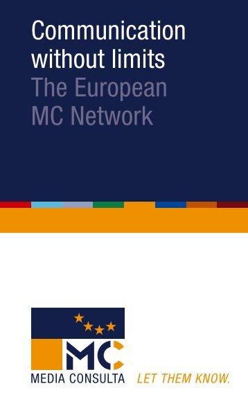 Communication without limits The European MC Network - Com_unit