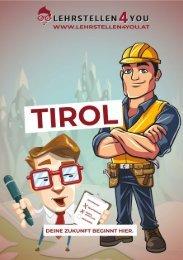 Freie Lehrstellen in Tirol
