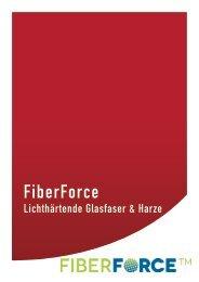 FiberForce – Lichthärtende Glasfaser & Harze