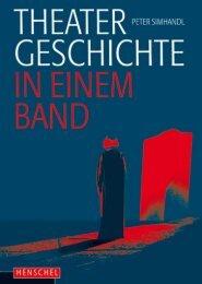 Leseprobe: Theatergeschichte in einem Band