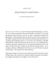 bibliografi & bokväsen