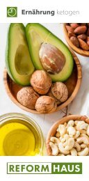 Ernährung ketogen im REFORMHAUS