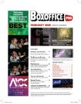 Boxoffice Pro - February 2020 - Page 5