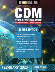 Cyber Defense eMagazine February 2020 Edition