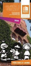 Bildungszentrum Burg Schwaneck Ferien- und Freizeitprogramm_2020