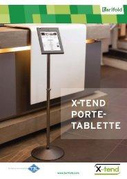 X-Tend Porte-tablette