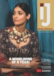 INDIAN JEWELLER (IJ) Dec - Jan 2020