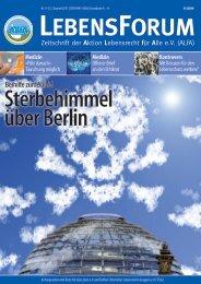 ALfA e.V. Magazin – LebensForum | 114 2/2015
