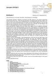 Brieftaube 1 v. 14.09.2010 - Otto-von-Taube-Gymnasium