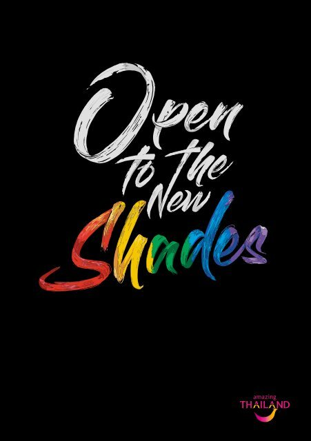 Thailand – open to the new shades