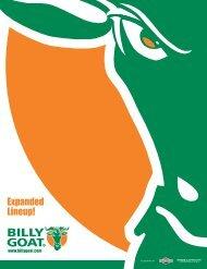 Billy Goat Brochure 2019