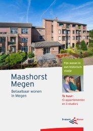 Verhuurbrochure Maashorst